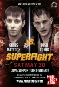MBS Superfight Poster Josh and Chris