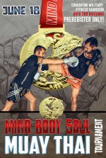 mbs muay thai poster