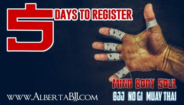 5 days to register